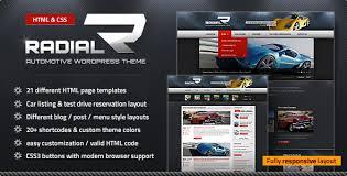 radial- premium automotive HTML template