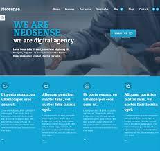 Neosense wordpress theme