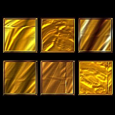 Layered gold background