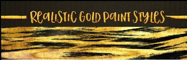 Gold Paint Effect For Photoshop.